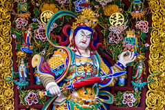 Giant Chinese art colorful Stock Photo