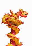 Giant Chinese dragon. On isolate background royalty free stock image