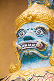 Giant. Close Up the Giant statue face at Wat Tai Phra Chao Yai Ong Tue,Ubonratchathani Province,Thailand Stock Photography