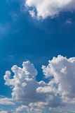 Giant cloudy sky Royalty Free Stock Image