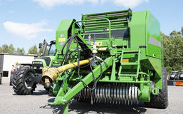 Giant combine harvester Royalty Free Stock Photo