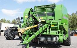 Giant combine harvester Royalty Free Stock Photo