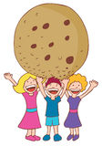 Giant Cookie Royalty Free Stock Photos