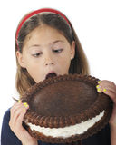 Giant Cookie Eater Royalty Free Stock Photos
