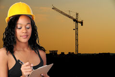 Giant Crane Royalty Free Stock Photography
