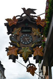 Giant cuckoo clock. Cuckoo clock in Germany, Europe Stock Images