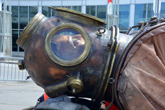 The giant deep-sea diver Stock Photography