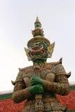 Giant Demon Guardian at Wat Phra Kaew,Buddha, Bangkok, Thailand stock images