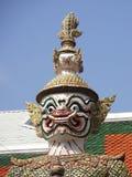 Giant demon, Wat Phra Keaw, Bangkok, Thailand Stock Images