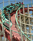 A Giant Dipper Ride, Belmont Park, San Diego Royalty Free Stock Photo