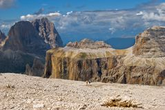 Giant Dolomites Royalty Free Stock Photo