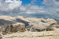 Giant Dolomites Royalty Free Stock Photography