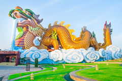 Giant dragon Royalty Free Stock Photos