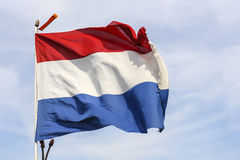 Giant Dutch Flag Royalty Free Stock Photos