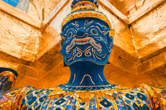 The Giant at the Emerald Buddha, Bangkok, Thailand Stock Photography