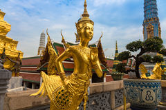 The Giant at the Emerald Buddha, Bangkok, Thailand. Demon Guardian Wat Phra Kaew Grand Palace Bangkok Stock Images