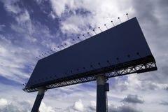 Giant Empty Billboard On Street stock photos