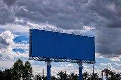 Giant Empty Billboard On Street royalty free stock photography