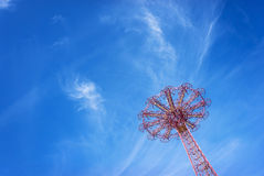 Giant ferris wheel against blue sky Royalty Free Stock Images