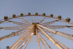 Giant Ferris Wheel In Fun Park On Night Sky Royalty Free Stock Photography