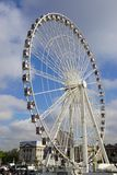 The giant Ferris Wheel (Grande Roue) in Paris Royalty Free Stock Images
