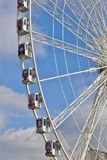 The giant Ferris Wheel (Grande Roue) in Paris Royalty Free Stock Image