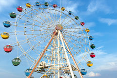 Giant ferris wheel Stock Photo