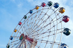 Giant ferris wheel Stock Image
