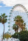 Giant Ferris Wheel in Malaga Stock Image