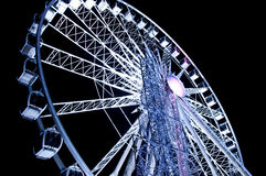 Giant ferris wheel in Paris Royalty Free Stock Image