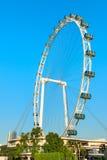 Giant Ferris wheel Singapore Flyer Stock Photo