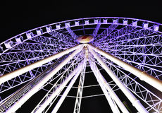 Giant ferris wheel Southbank Brisbane Australia. This is the largest ferris wheel in the Southern Hemisphere. It is gigantic and sits at Southbank next to the Royalty Free Stock Image