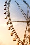 Giant Ferris Wheel at sunset Royalty Free Stock Photography