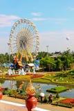 Giant flora wheel royal flora 2011 Royalty Free Stock Photo