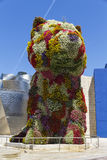 The giant floral sculpture Puppy Royalty Free Stock Images