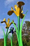 Giant Flowers Royalty Free Stock Photos