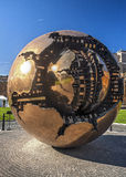 Giant Fractured Sphere at the Vatican Royalty Free Stock Photos