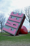 Giant free stamp. Image of a giant free stamp in Downtowm Cleveland Ohio Royalty Free Stock Photo