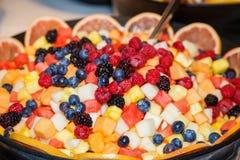 Giant Fruit Bowl Stock Photos