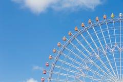 Giant funfair ferris wheel Stock Images