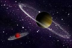 Giant gas planet Stock Photo
