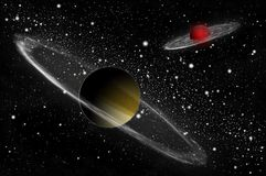 Giant gas planet Royalty Free Stock Images