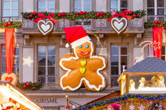 Giant Gingerbread Man Royalty Free Stock Images