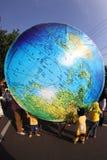 Giant globe Stock Photography
