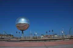 Giant globe Royalty Free Stock Photo
