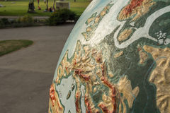 Giant globe royalty free stock photos