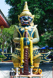Giant. God Art giant from Thailand royalty free stock image