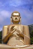 Giant gold Bhudda Stock Photo