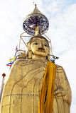 Giant Gold Buddha Royalty Free Stock Photo