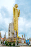 The giant golden Buddha,Buddhism,Thailand Royalty Free Stock Photography
